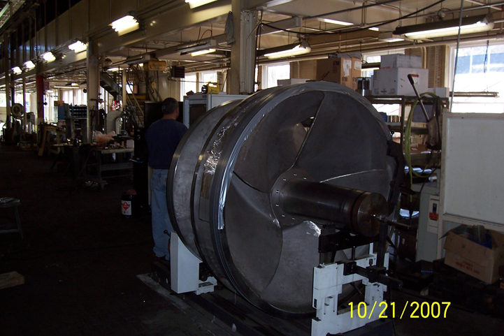 300000 gpm sterns rogers after manufacturing being dynamically balanced