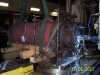 Pacific 4bfi being machining to facilitate disassembly after major failure